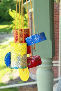 tins wind chimes